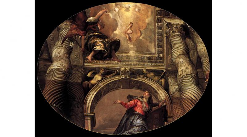 "Paolo Veronese ""Annunciation"""