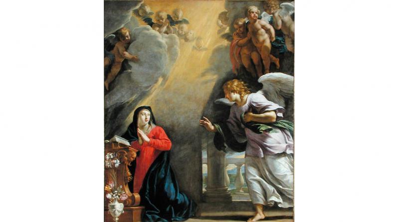 """Philippe-de-Champaigne """"Annunciation"""""""