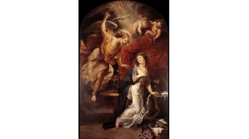 """Rubens """"Annunciation"""""""