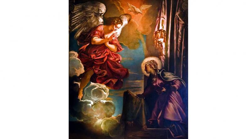 """Solimena """"Annunciation"""""""
